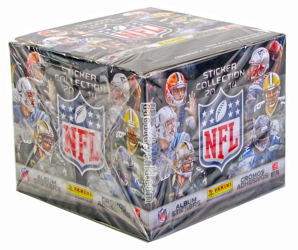2014 Panini NFL Football Sticker Box  DA Card World