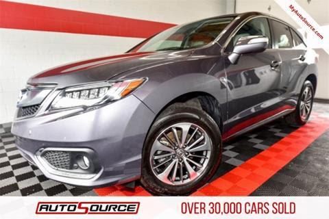 2018 Acura Rdx For Sale
