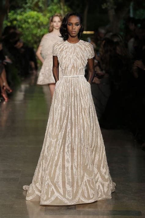 this Elie Saab gown depicts American Lifestyle through it