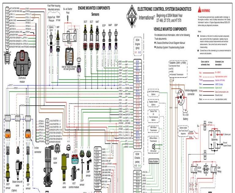2000 International 4700 T444e Wiring Diagram
