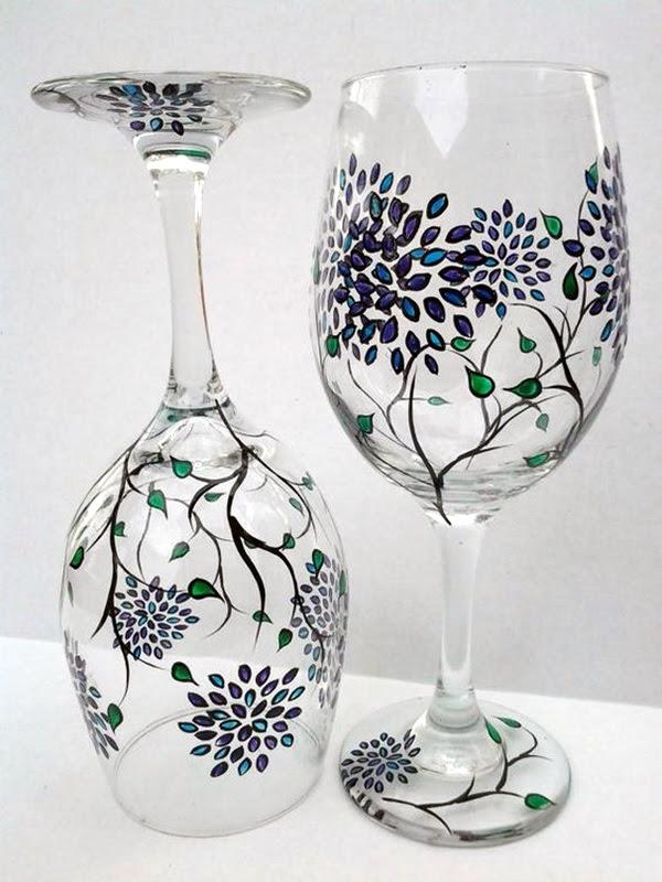 Artistic wine glass painting ideas (8)