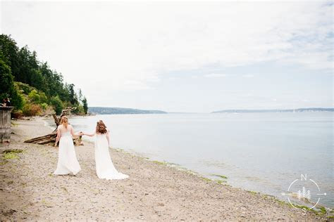 Best Whidbey Island Wedding Venues: Neal and Saskia