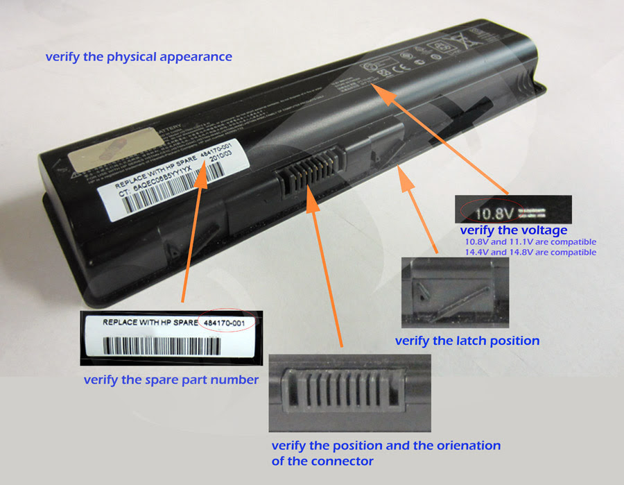 Extended Life Hp pavilion dv2000 battery - AU Risk Free Shipping