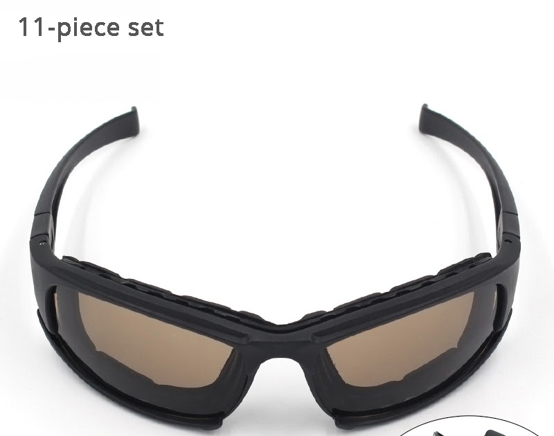 49871dbf7e5a1c Goede Kopen Nachtzicht Fietsen Bril Gepolariseerde UV Woestijn Leger  Goggles 4 Lens Jacht Zonnebril Anti UVA UVB X7 Tactical Eyewear Voor Mannen  Goedkoop