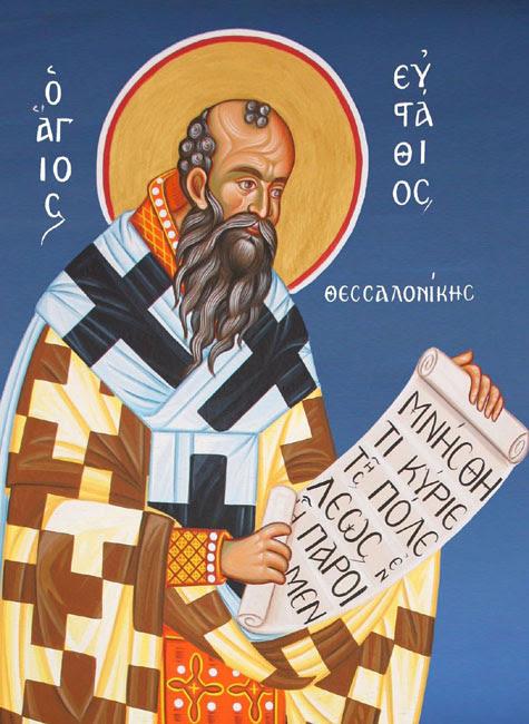 IMG ST. EUSTACE  Katafloros, Archbishop of Thessalonica
