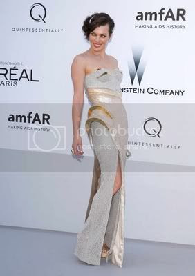 amfAR Gala 2012 Red Carpet Fashion Style