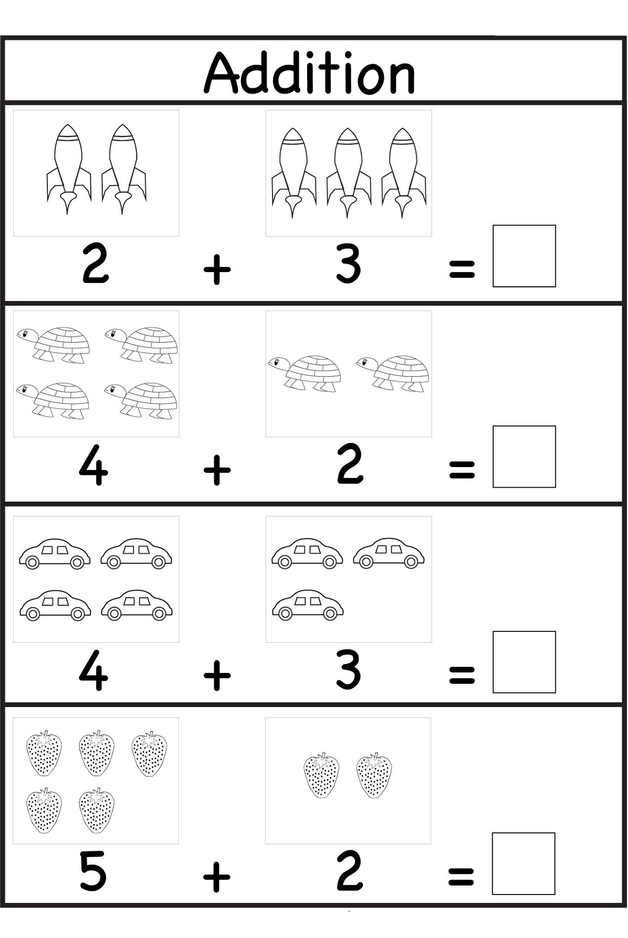 Worksheets for 3 Years Old Kids  Activity Shelter