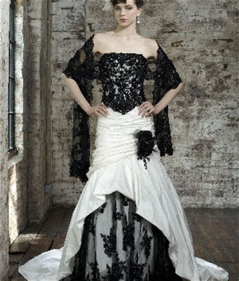 17 Best images about Black Bridal Wedding Gowns on