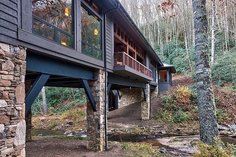 Stone Cabin Stiltsinterior Design Ideas