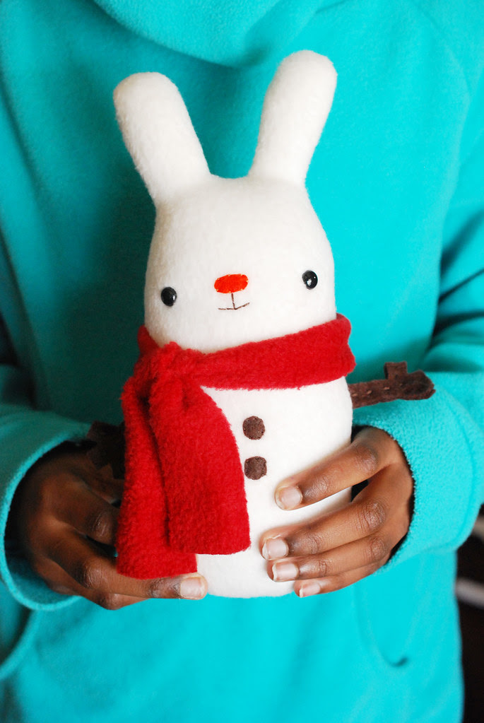 Snow Bunny Plush