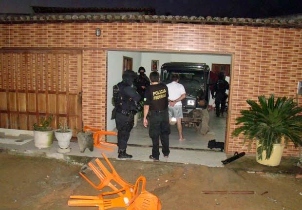 Operação foi deflagrada na madrugada desta terça-feira (6) (Foto: Divulgação/Polícia Federal do RN)