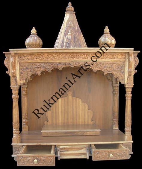 code  wooden carved teakwood temple mandir furniture