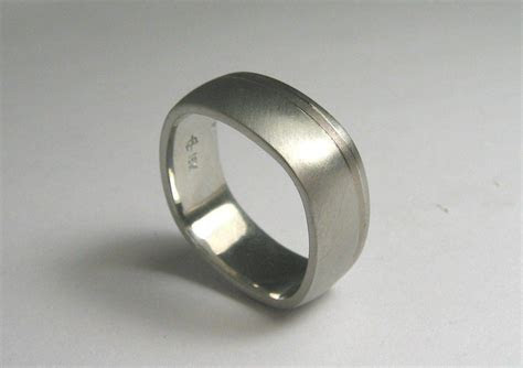 latest mens square wedding bands
