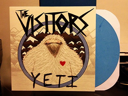 The Visitors - Yeti LP - Blue Vinyl (/200) by Tim PopKid