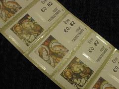 Ugly Christmas stamps 2010