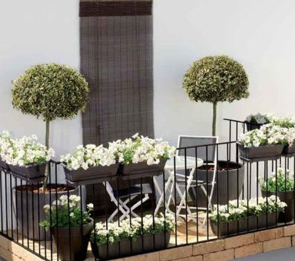 Adornos Jardín Mini Balcones Decoración