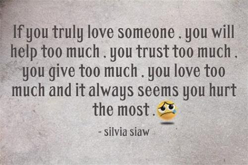 Silvia Siaw Silviasiaw Being Hurt By Someone You Love Quotes