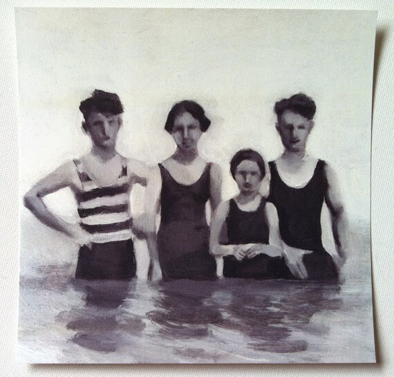 Swimmers /  print