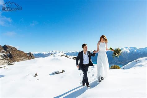 Winter Elopement Wedding in Queenstown, New Zealand