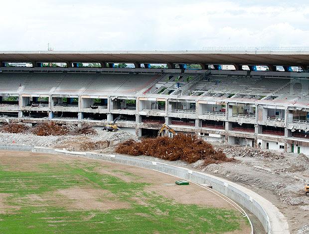 maracanã obras (Foto: Agência Estado)