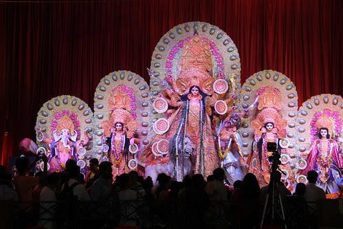 Bengal Club Durgotsab  Shivaji Park Dadar 2012 by firoze shakir photographerno1