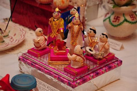Rukhwat ? Decorated Items in a Maharastrian Wedding   The