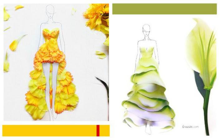 Diseños Con Pétalos De Flores Por Grace Ciao Floritismo