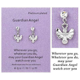 Equilibrium Sentiment GUARDIAN ANGEL Silver & Crystal