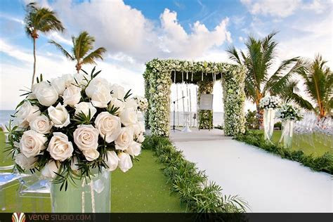 Wedding Ceremony at the Private Luxury Villa at the Casa