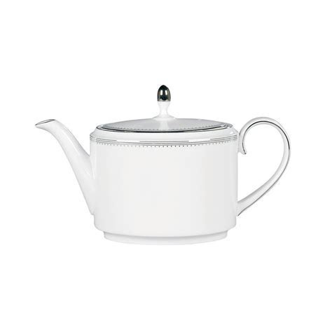 Vera Wang Wedgwood Grosgrain Teapot 1.1Ltr   Wedgwood