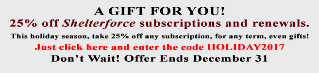Subscription Discount Code HOLIDAY2017