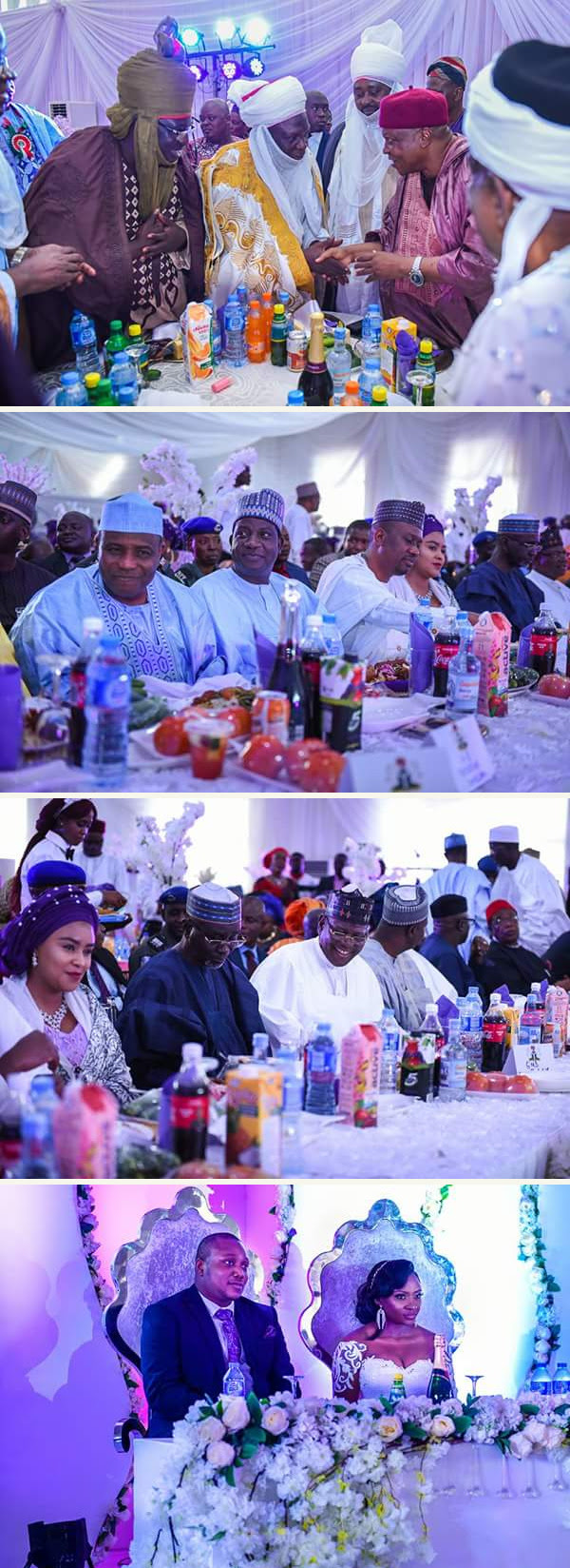 Colourful Photos From Governor Ishaku's Son's Wedding. Check Out Dignitaries
