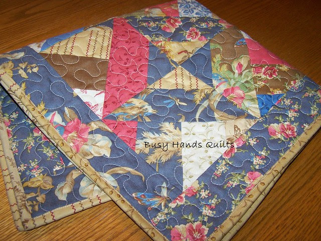 In the Meadow Blue Table Runner