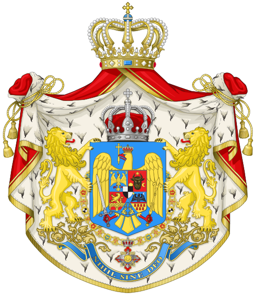 File:Kingdom of Romania - Big CoA.svg