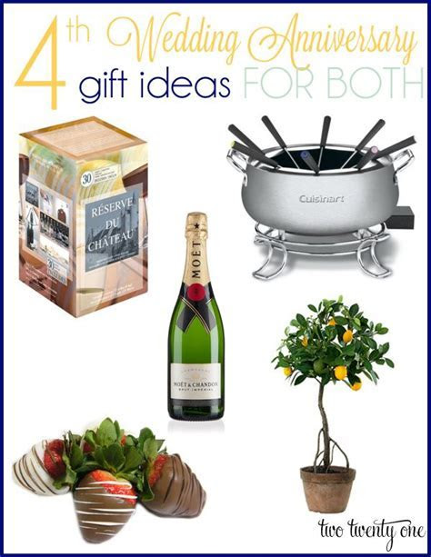 4th Anniversary Gift Ideas   Gifts for Everyone!   4th