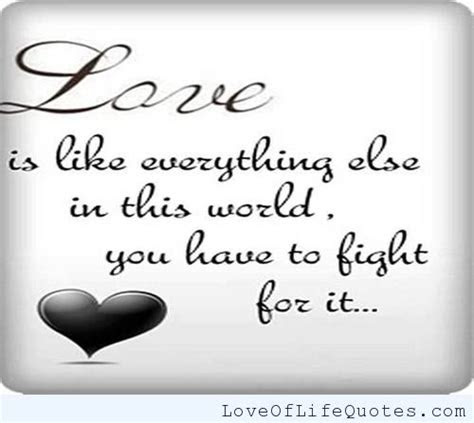 75+ Fight For Love Quotes Images