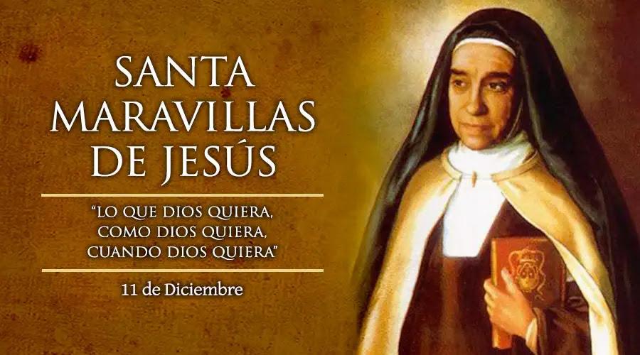 Santa Maravillas De Jesús Virgen
