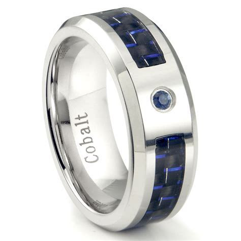 Mens Wedding Bands with Blue Sapphire   Wedding and Bridal