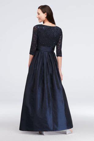 Lace Surplice Bodice Taffeta Ball Gown   David's Bridal