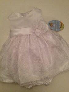 Baby Flower Girl Dress Fancy Wedding Holiday Baptism White
