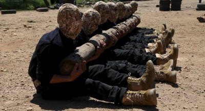 Syrian-Rebels-US-Army-Training