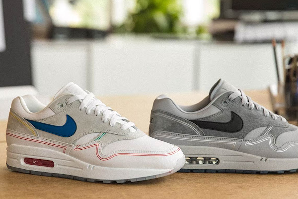 """20f9f38b4c Nike Honors Centre Pompidou With Air Max 1 """"By Day/By Night"""""""