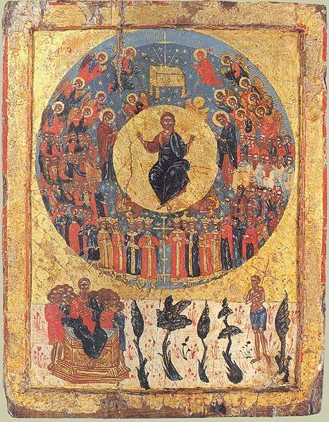 Αποτέλεσμα εικόνας για the last judgment orthodox iconography