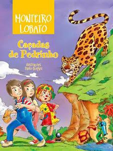 Livro 'Caçadas de Pedrinho', de Monteiro Lobato, distribuído a escolas públicas no programa Biblioteca na Escola