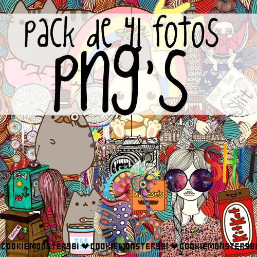 Pack de PNG'S 01 by cookiemonster981