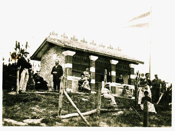 La cabine de bains de La Louisiane détruite lors de la se