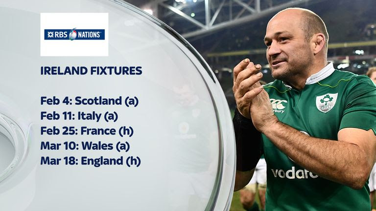 2017 Six Nations preview: Ireland target third title in four years ...