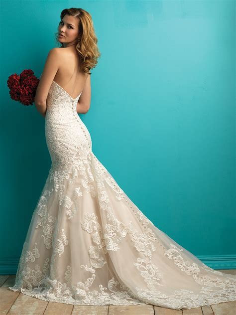 Allure Bridals 9257   allure bridals   Pinterest   Lace