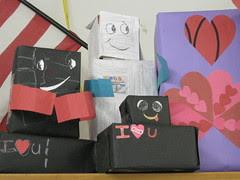 A Few Robots & A Decorated Box