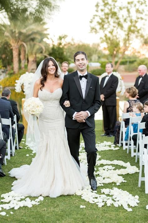 Luxury California Wedding at Bougainvillea   MODwedding